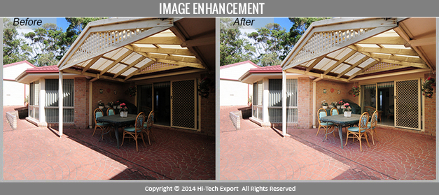 Sample image of our image enhancement service