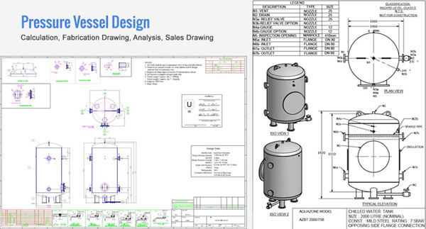 Pressure Vessel Design & Analysis for Vacuum, Gas, Steam Out | Hi ...